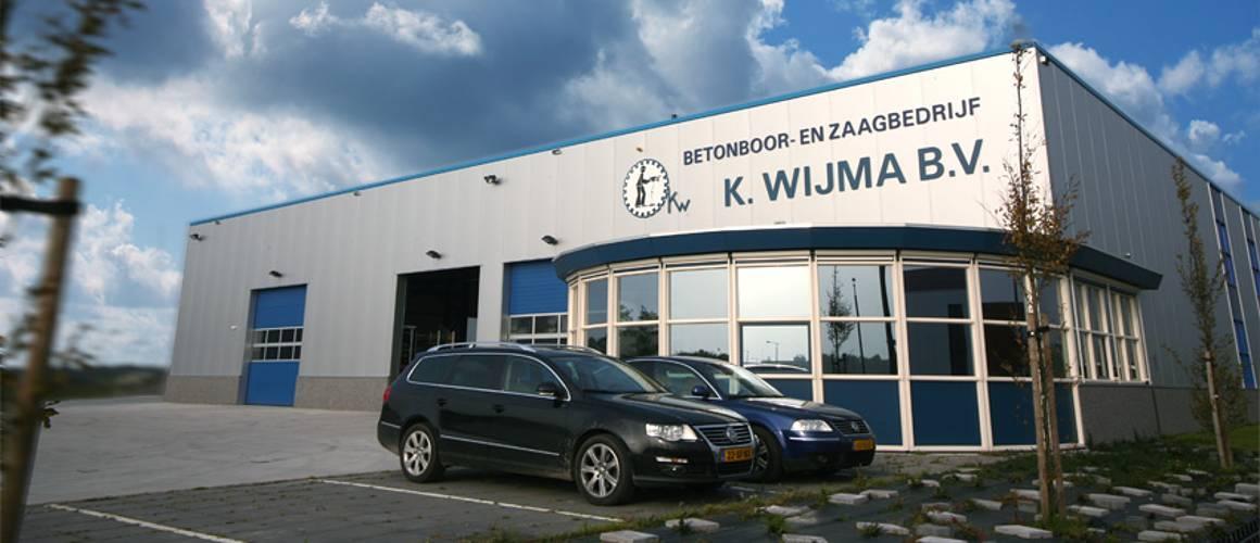 Bedrijfspand wijma betonboringen drachten - Asfaltzaag- en Betonborenbedrijf K. Wijma BV
